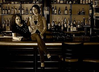 Western Saloon by SophiiJones