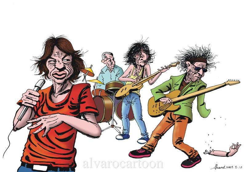Rolling Stones by Alvarossantos