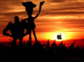 Steve Jobs by Alvarossantos