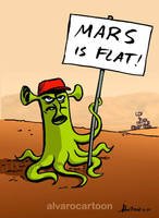 Mars is Flat!