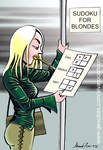 Sudoku for blondes