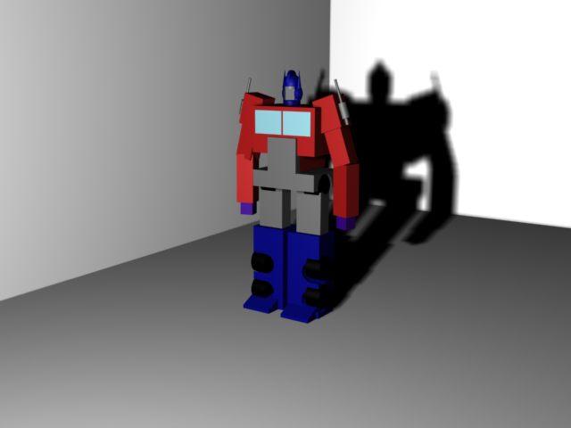 Optimus Prime model