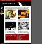 The Piano Court website