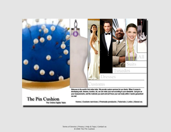 The Pincushion online tailor