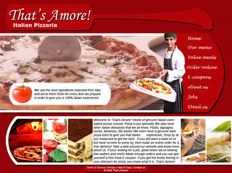 That's Amore Pizzeria