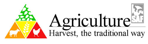 Agriculture with text
