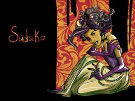 Sadako in Watercolors