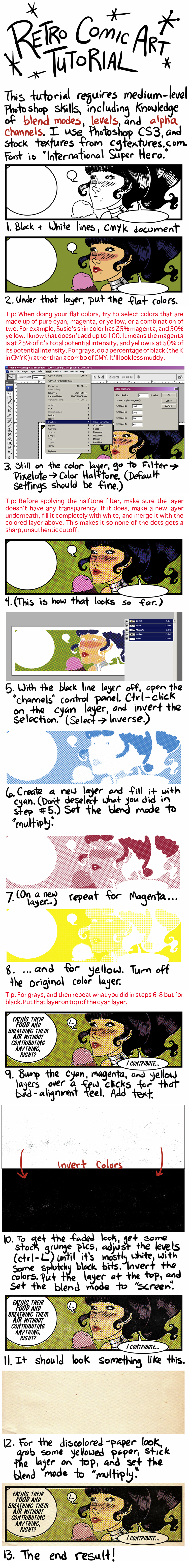 Golden Age Tutorial by rosalarian