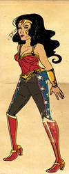 Wonder Woman by rosalarian