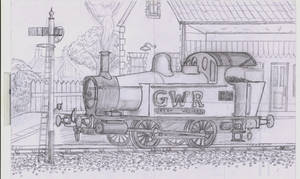 GWR Holden tank sketch by YanPictures