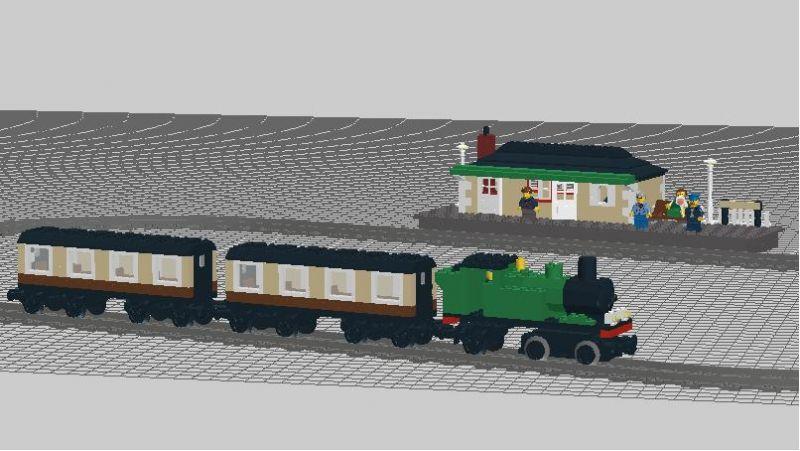 Lego Steam Train Set Gwr Lego Train Set by