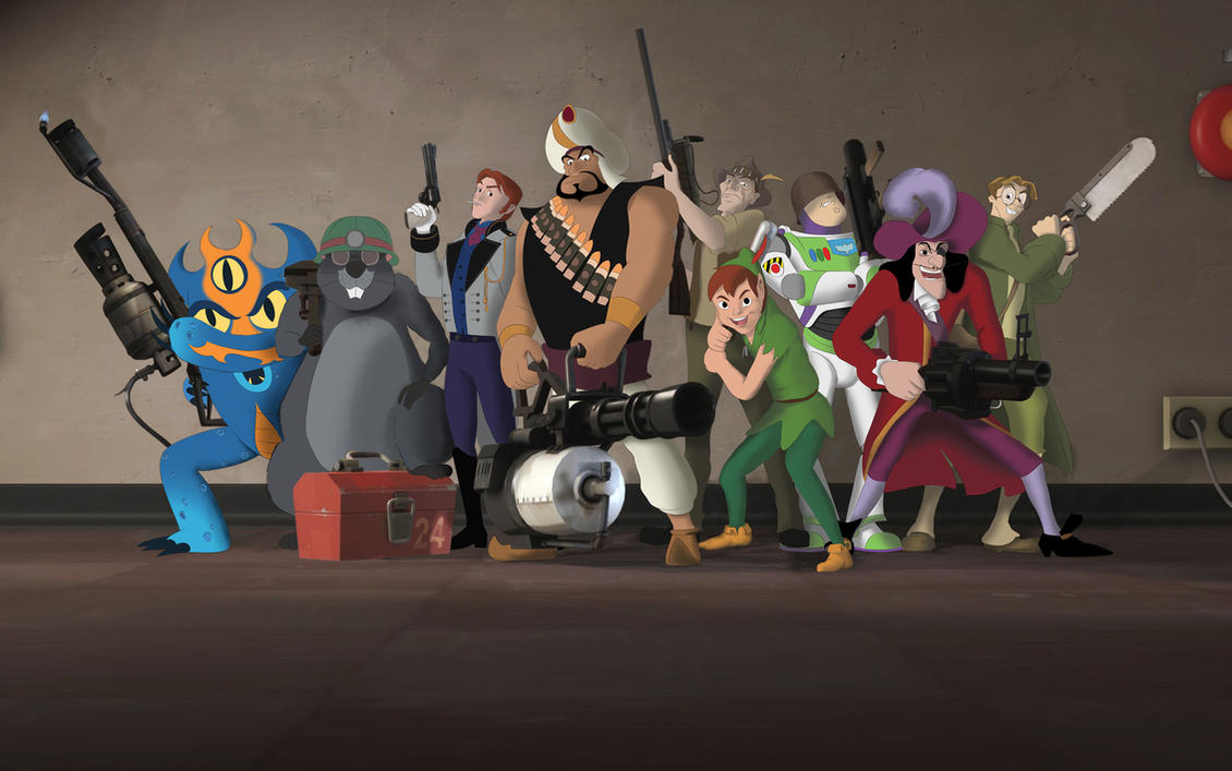 Disney Fortress 2 By Yanpictures On Deviantart