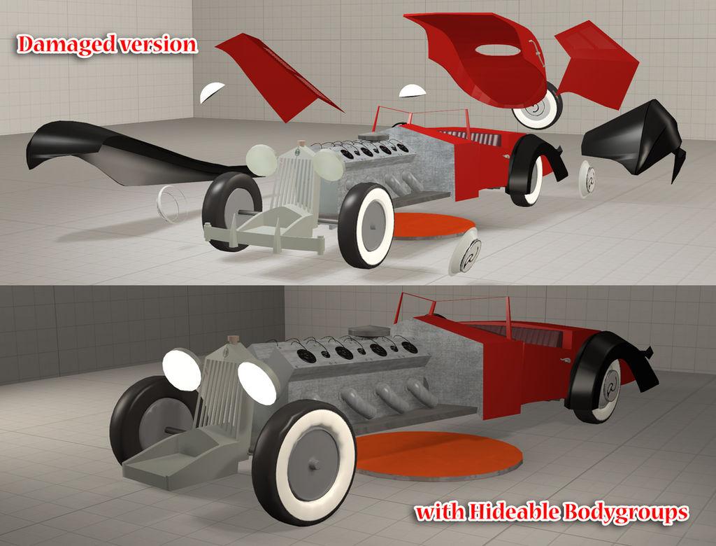 SFM] Cruella's car updates (Plz read Dscp  Thx) by