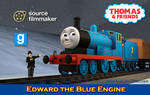 [SFM/Gmod Model] Edward the Blue Engine by YanPictures