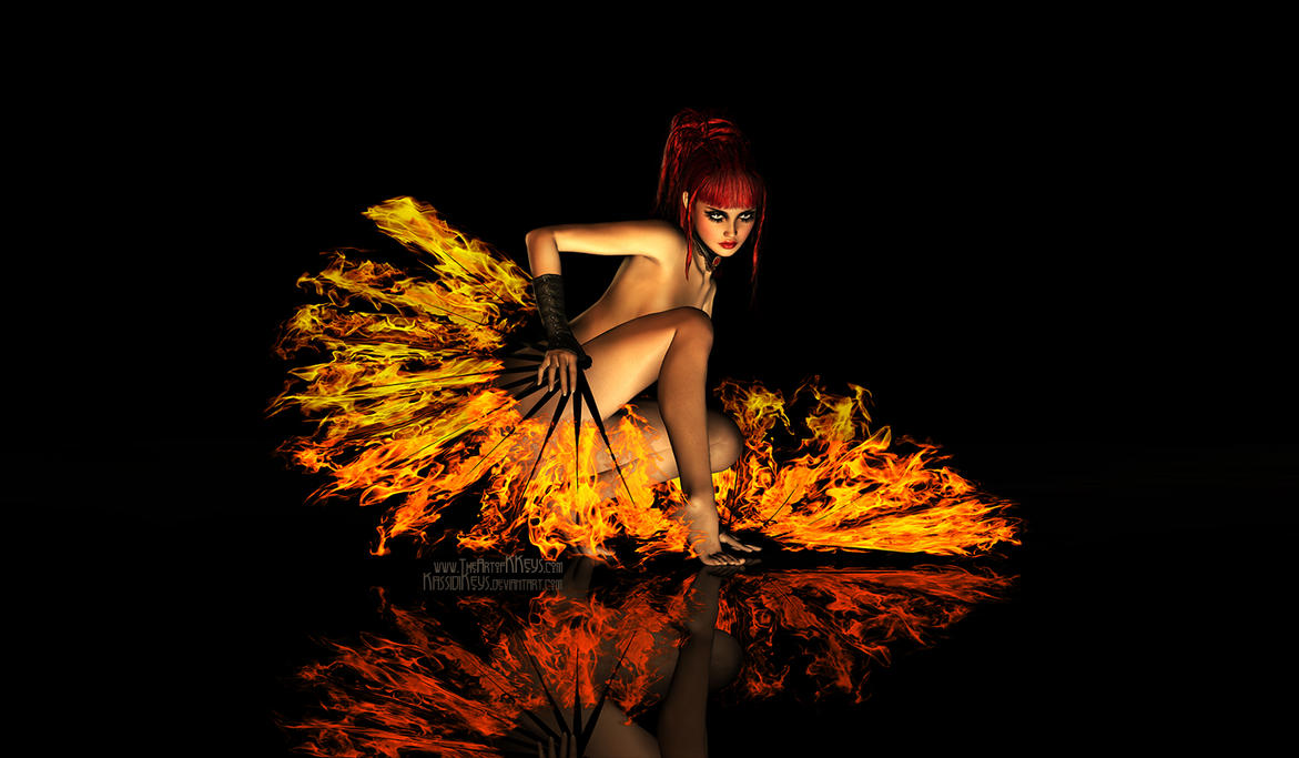 Flame Dancer by KassidiKeys