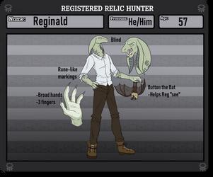 [Relic Hunter] Reginald by bink5bink5