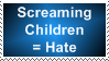 Screaming Children Stamp by BBchanx3