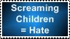 Screaming Children Stamp by BBchanx3
