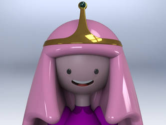 Princess Bubblegum by eduardferr