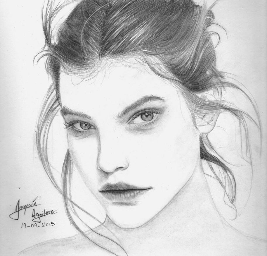 Barbara Palvin by j2ag on DeviantArt
