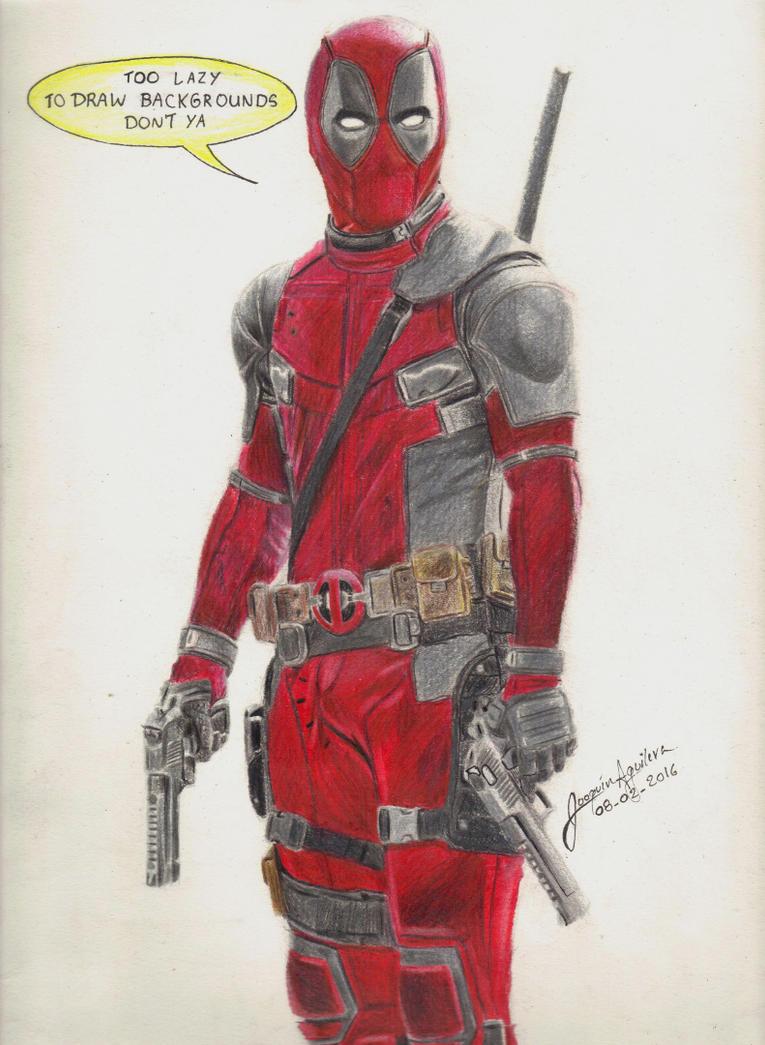 Deadpool by j2ag