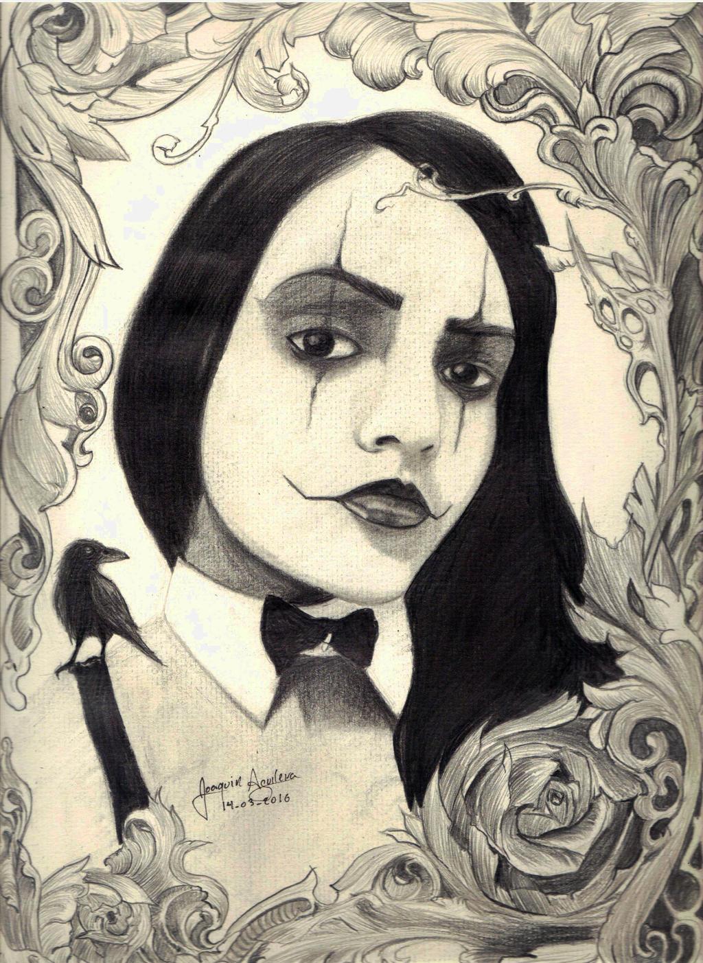 Crow Girl by j2ag