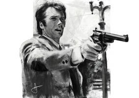 Clint Eastwood (Dirty Harry) by j2ag