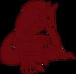 Wolf's Anthro Wolf Form 2