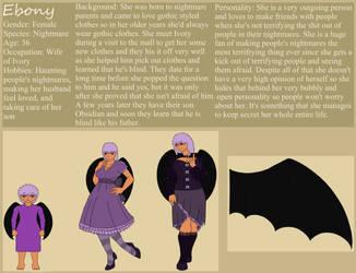 Ebony Ivory Phantom- The Cosplaying Nightmare