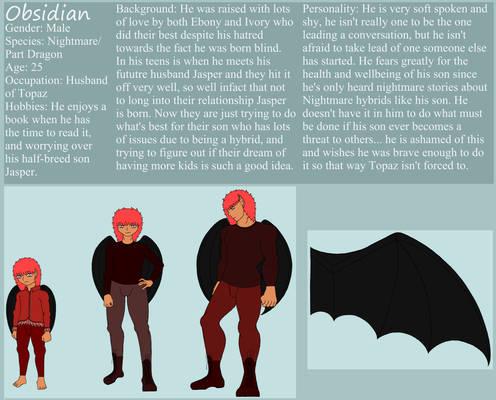 Obsidian Nightmare Phantom- The Shy Nightmare