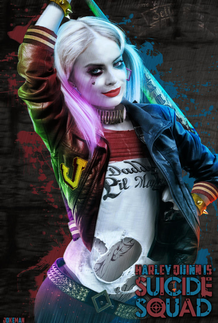 Harley 39 margot robbie 39 queen by jokeman77 on deviantart for Imagenes de jarli cuin