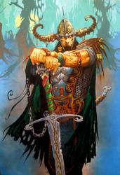 Barbarian King by Shiantu