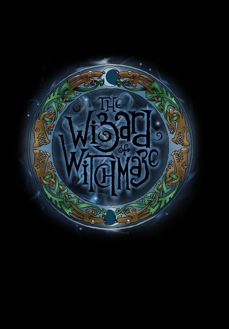 Wizard of Witchmaze - back cover logo by Shiantu