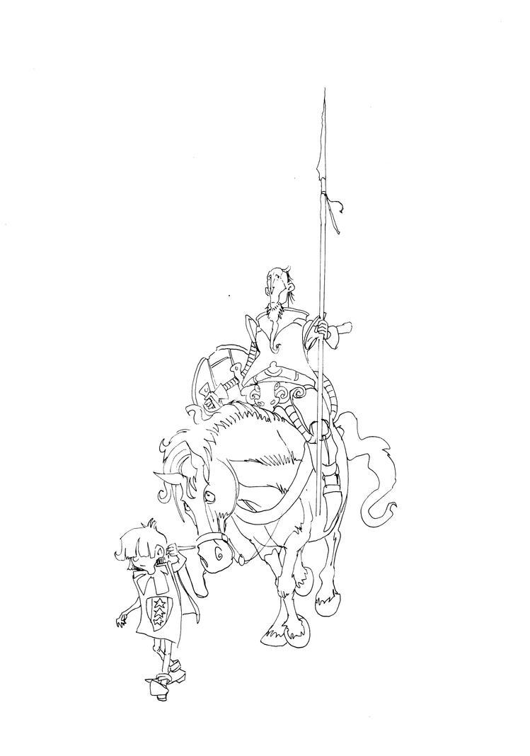 Sir Avery Thynder rides out! by Shiantu