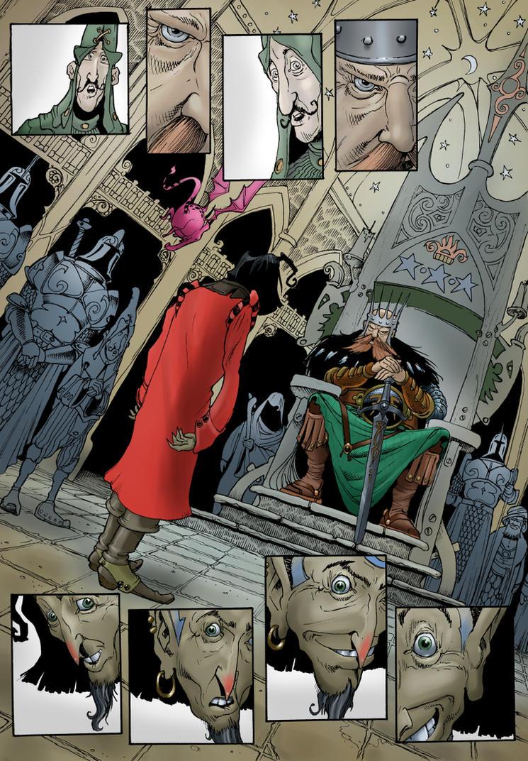 Wizard of Witchmaze - Page 23 by Shiantu