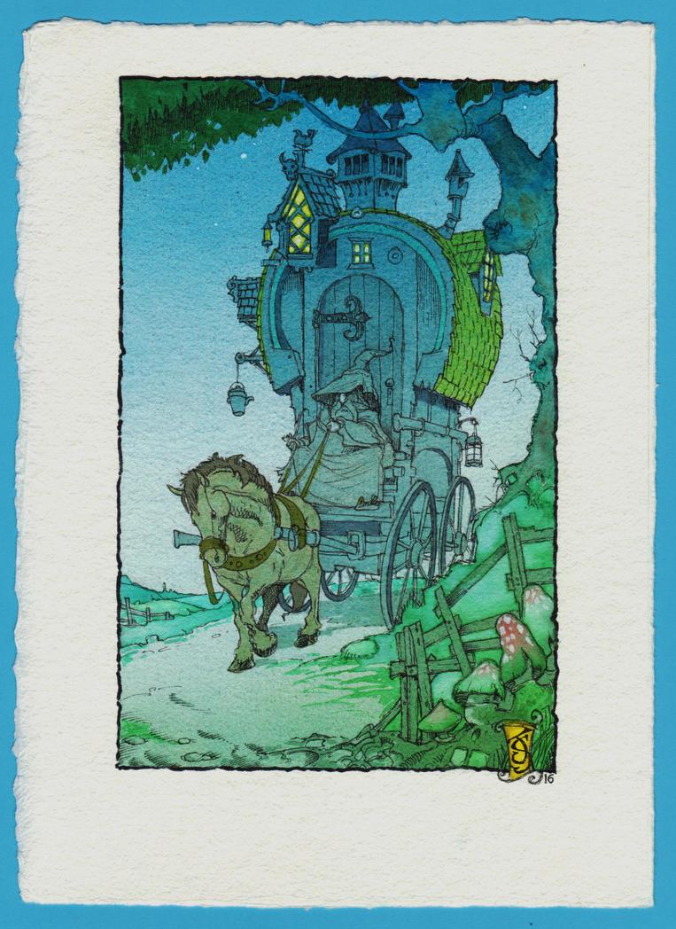 The Wandering Wizard Returns by Shiantu