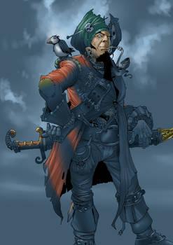 Vertyginus Banks - notorious pirate of the Baantu