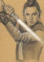 Rey by Lariethene