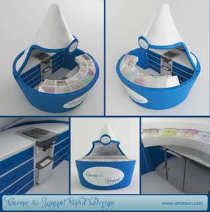 Crema and Yogurt Stand