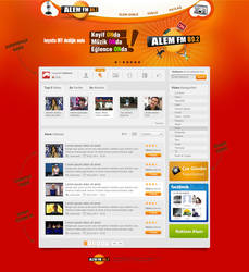 Alem FM On Webface by umutavci