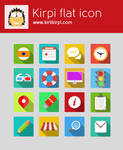 Metro Style Flat icon Set