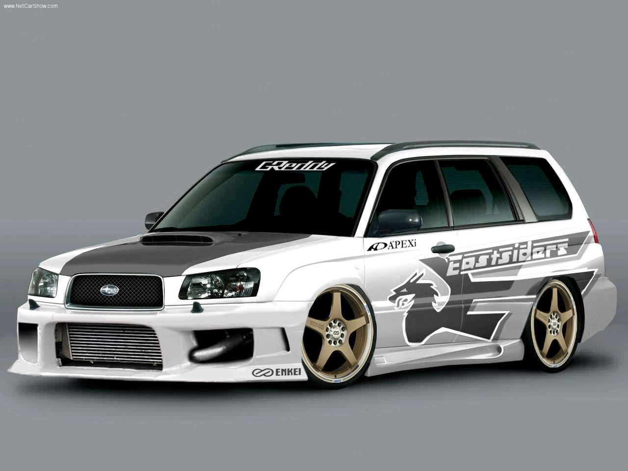 Subaru Forester Decals
