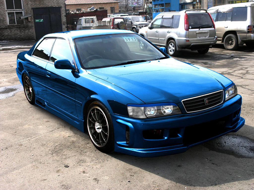 Toyota Chaser Tuning front