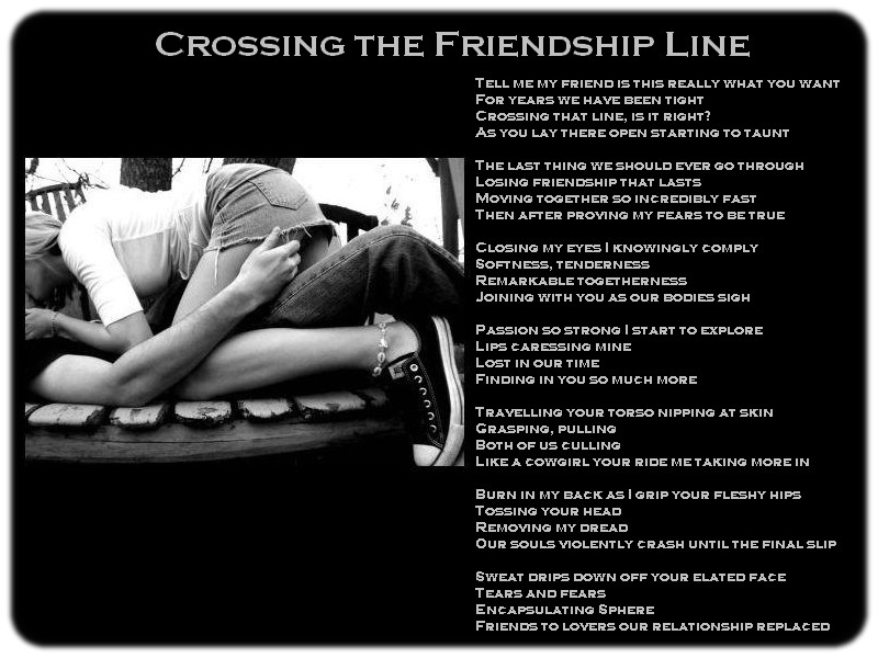 Crossing The Friendship Line 2 By Ardunt On DeviantArt