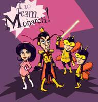 Team Monarch by lupienne