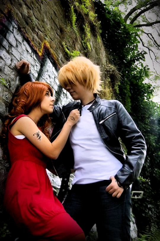 Clary and Jace by Aya-Ken