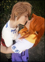 Malon and Link by Aya-Ken