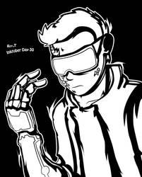 Inktober: Day 30 by RagingDroidX