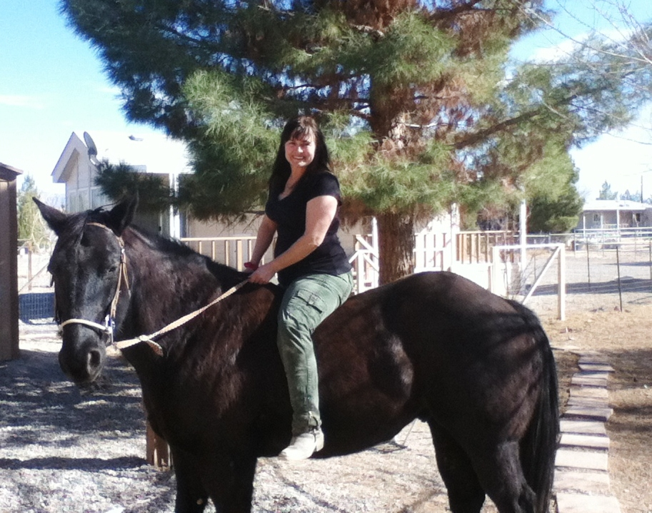 Twister the Unrideable Quarter Horse by AthenaIce