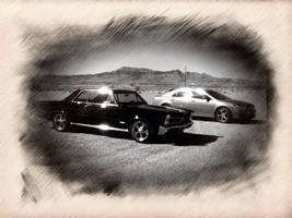 GTO and Chevy Malibu LT by AthenaIce